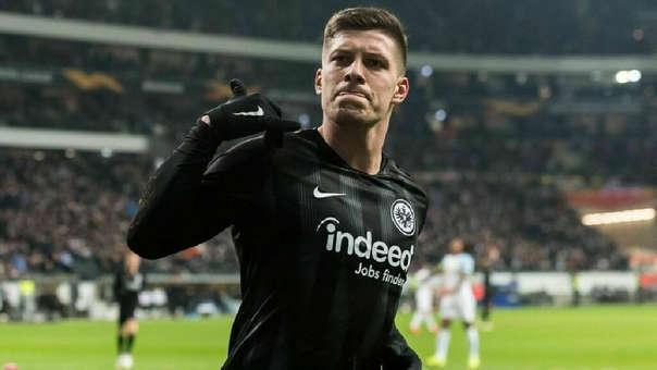 El 80% del pase de Luka Jovic ahora le pertenece a Eintracht Frankfurt. El 20% restante se quedó con Benfica.