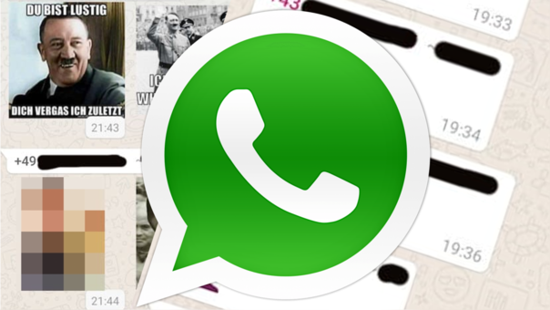 WhatsApp viene siendo ocupada por grupo pronazi que viralizan contenido antisemita