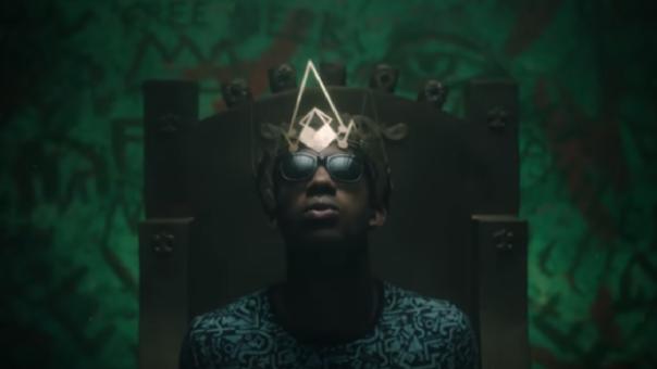 El príncipe del Rap se muestra en una nueva y oscura versión.