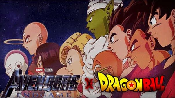 Avengers: Endgame x Dragon Ball