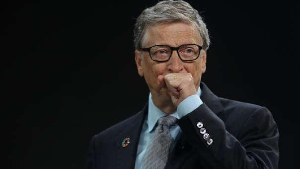 Bill Gates es el segundo hombre más rico del mundo, superado por Jeff Bezos.