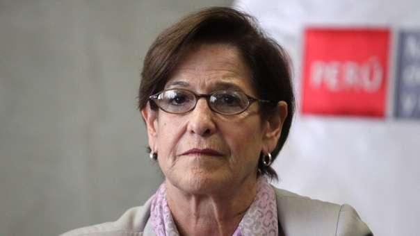 Susana Villarán, exalcaldesa de Lima, investigada por el caso Odebrecht.