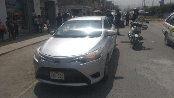 Dos de los delincuentes que participaron en el asalto fueron detenidos.
