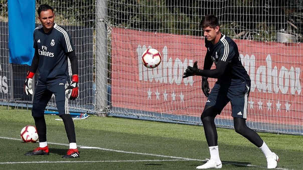 Keylor Navas vs. Courtois: Zidane ya eligió al arquero titular del Real Madrid