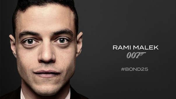 Rami Malek se une al elenco de 'Bond 25' como el villano a vencer.