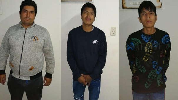 Uno de los tres delincuentes que fueron capturados tiene 17 años.