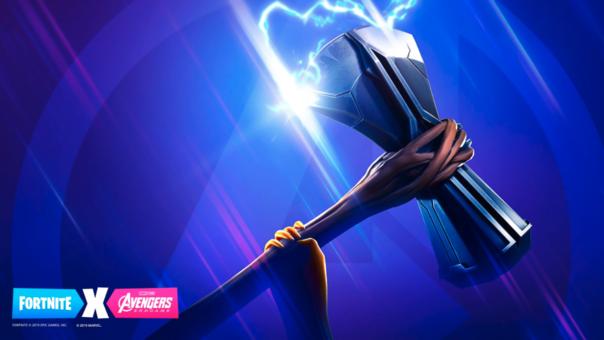 Thor tiene su propia arma representada en el juego.