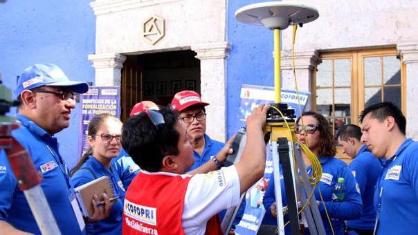 l Director Ejecutivo de Cofopri César Figueredo saludó la aprobación de la transferencia presupuestal de 5 millones 499,060 soles del Ministerio de Economía y Finanzas (MEF) para que sean utilizados en la ejecución del Catastro de La Victoria.