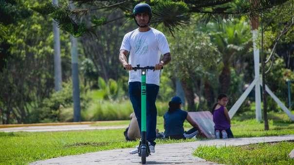 El Gobierno reguló el uso de los patinetes eléctricos.