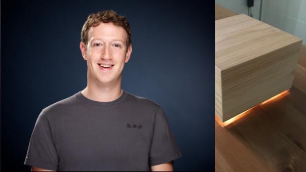 Mark Zuckerberg, CEO de Facebook, ha diseñado una caja para que su esposa duerma mejor