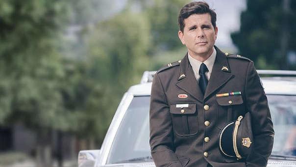 """Christian Meier regresa a la televisión después de cinco años con """"El general Naranjo"""", una serie basada en hechos reales."""