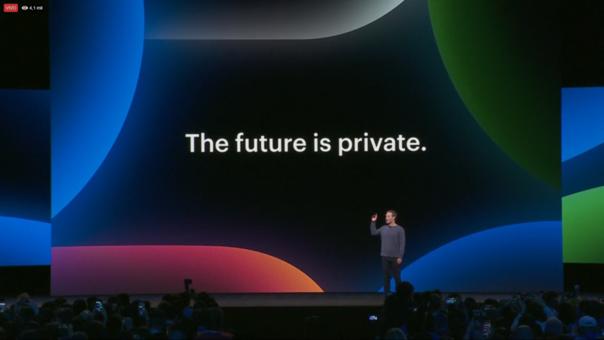 Mark Zuckerberg inicia el F8 con la expresión