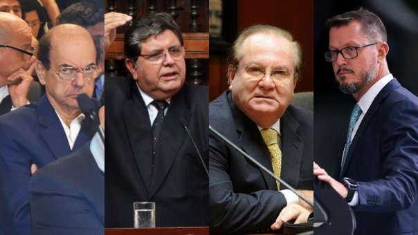 AFP/Congreso/Poder Judicial