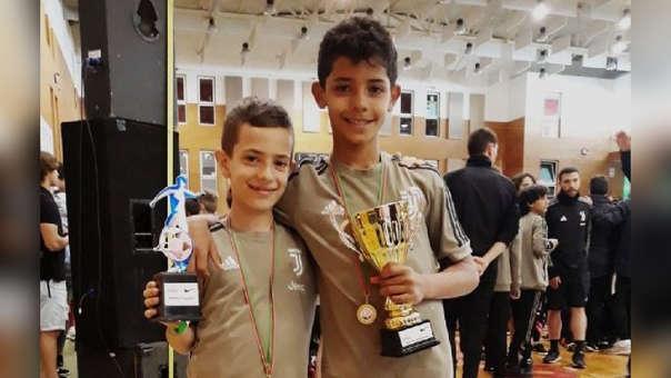 Cristiano Ronaldo: su hijo campeonó con Juventus y fue goleador del torneo