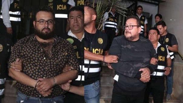 Los hermanos Jorge y Frank Chávez Sotelo permanecían bajo prisión preventiva.