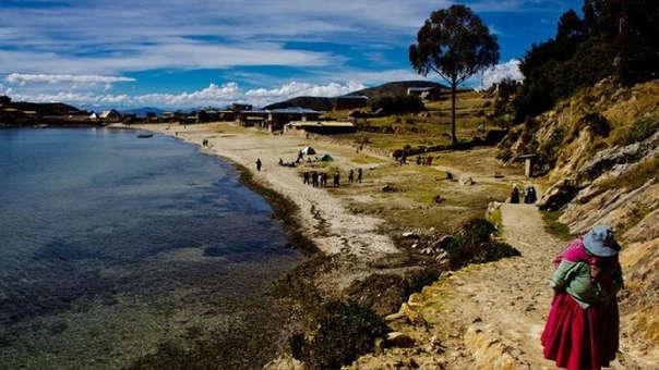 La Isla del Sol es un atractivo turístico en la zona boliviana del Lago Titicaca.