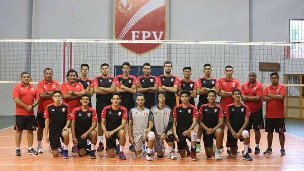 Selección Masculina de Voleibol Sub 21