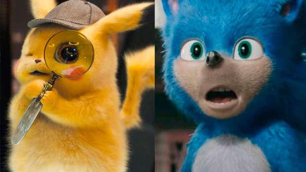 Detective Pikachu vs Sonic The Hedgehog