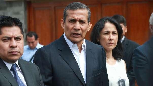 Ollanta Humala y Nadine Heredia son investigados por los aportes a su partido.