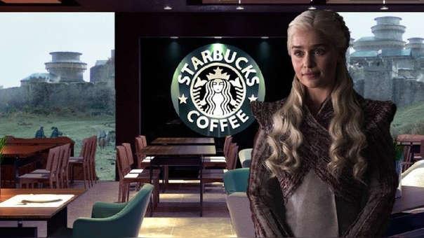 Daenerys se convirtió en la imagen de Starbucks sin darse cuenta.