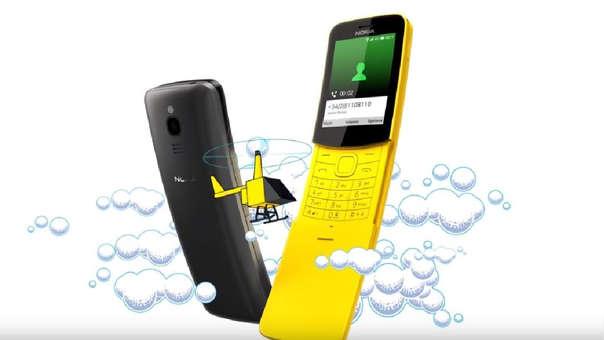 El feature phone Nokia 8110 4G.