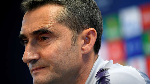 Ernesto Valverde, el DT del Barza que le voltearon dos series de Champions con tres goles a su favor