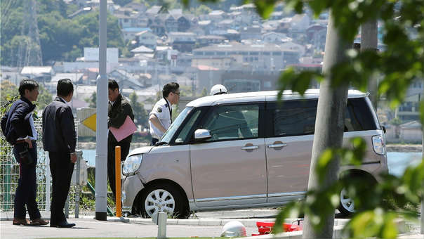 Accidente en Japón