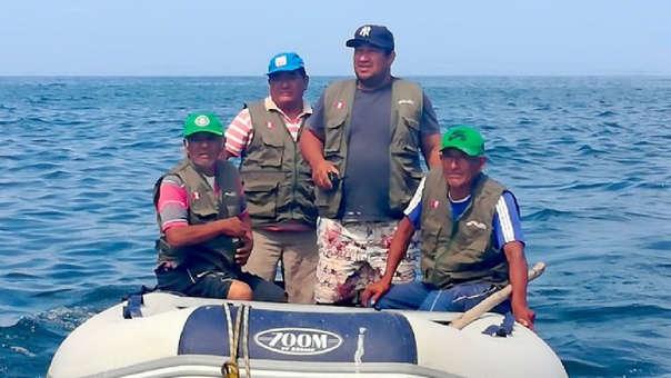 Guardaparques de la bahía de Paracas