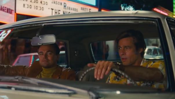 Brad Pitt y Leonardo Di Caprio