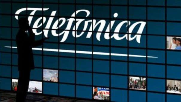 Telefónica asegura que ha invertido S/600 millones.