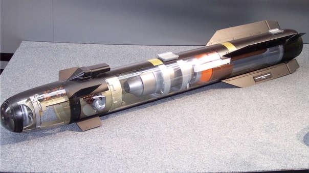El nuevo misil es una variante de los misiles Hellfire.