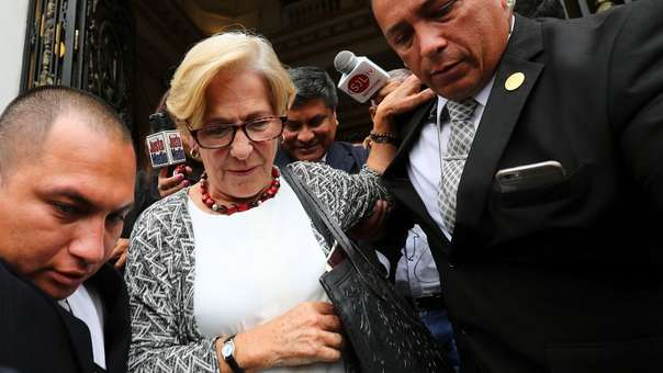 Fiscalía solicitó 36 meses de prisión preventiva para la exalcaldesa de Lima.