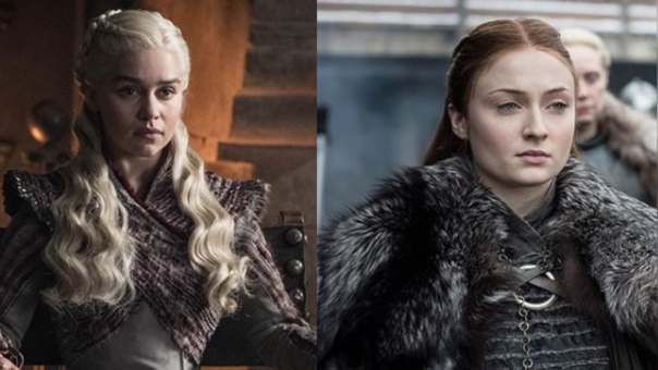 Sansa Stark y Daenerys Targaryen