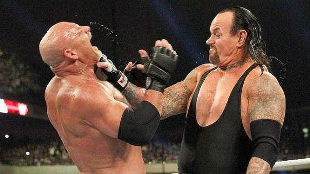 Goldberg vs. The Undertaker