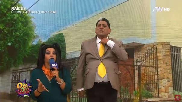 Carlos Álvarez imita al expresidente Alan García en el programa