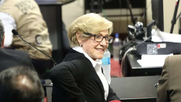 El Poder Judicial evalúa el pedido de prisión preventiva contra Villarán de la Puente.