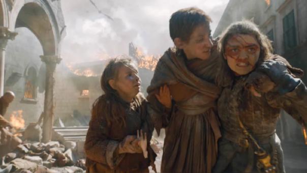 Arya Starks en el quinto episodio de