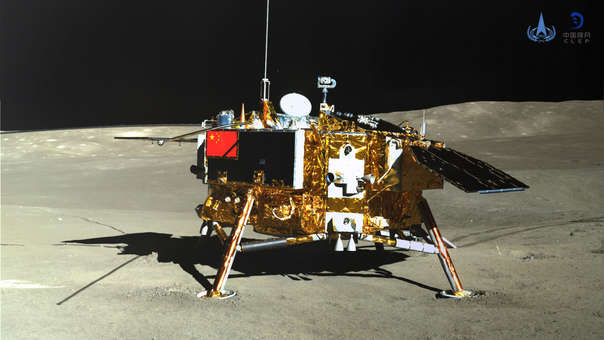 La sonda china Chang'e-4.