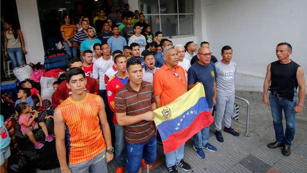 COLOMBIA-VENEZUELA-CRISIS-PROTEST