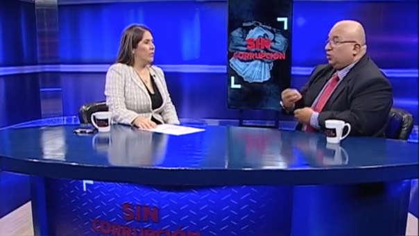 La congresista Yeni Vilcatoma conduce el programa 'Sin corrupción' que se emite por el canal del Congreso cada miércoles.