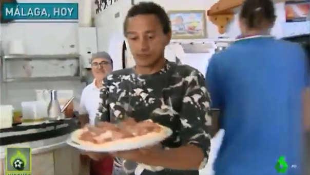 Darío Silva cuenta la verdad sobre su trabajo como camarero en pizzería