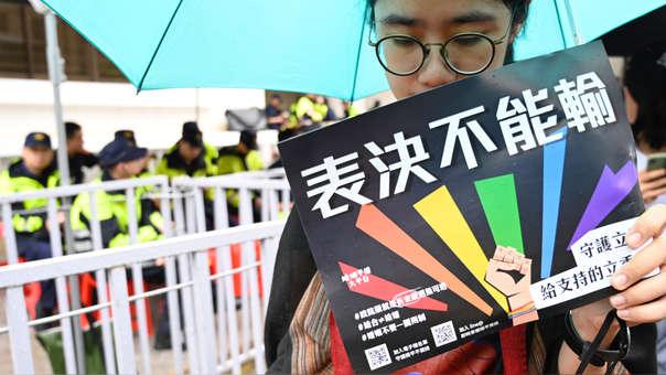 TAIWAN-POLITICS-GAY-MARRIAGE