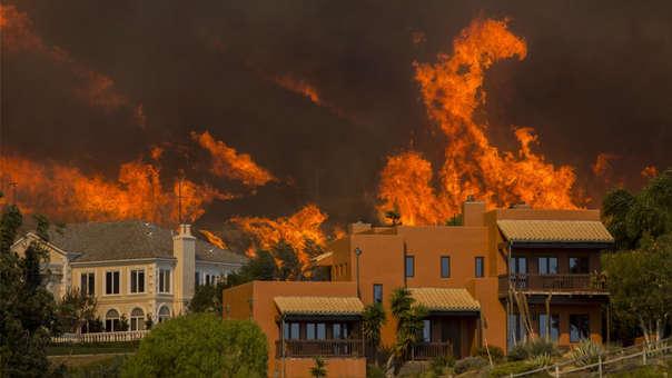 Incendio en California de noviembre del 2018.