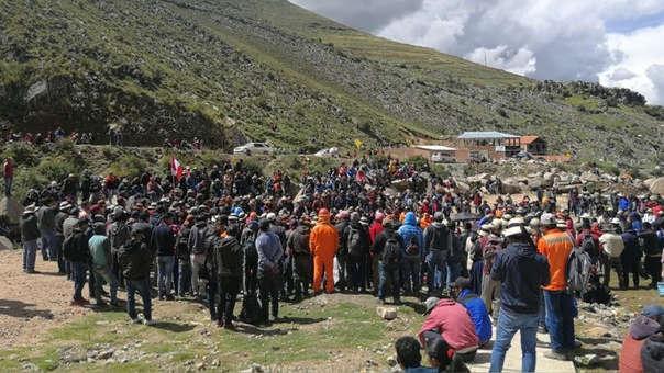 De bloquearse el tramo del corredor minero que cruza el fundo Yavi Yavi,  una de las más grandes productoras de cobre del Perú quedaría paralizada, es decir la minera MMG Las Bambas.