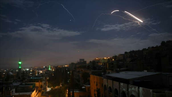 Siria responde ataque de Israel
