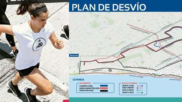 Conoce las calles que estarán cerradas por la maratón.