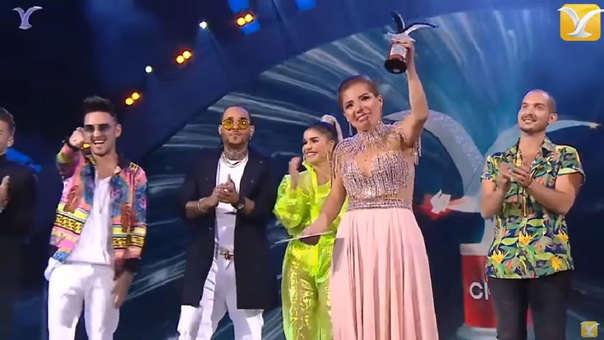 Susan Ocha ganó dos gaviotas de plata en el Festival de Viña del Mar 2019.