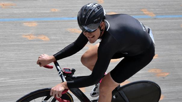 Antonio Rastegorac es campeón nacional de ciclismo de pista desde el 2015 hasta el 2017.