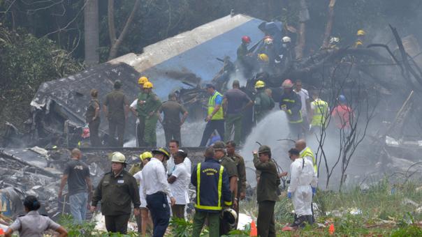 Escena dejada por la tragedia ocurrida el 18 de mayo del 2018.