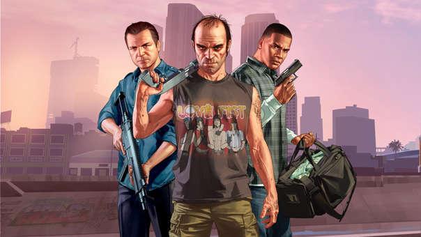 Grand Theft Auto 5, un clásico inmortal de los genios de Rockstar Games.